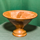 Segmented Spiral Bowl in Sycamore, Oak and Hornbeam. (see details).