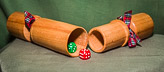 Christmas Cracker in Beech - may be re-used many many times ...
