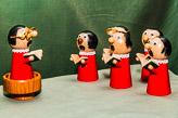 Enough figures to create a choir...