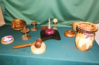 Items displayed by members.