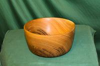 Bowl in Acacia