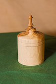 Lidded Box - it was progressing nicely until it developed a hole in the bottom...