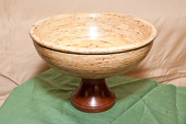 Timber Strand bowl on Ekki base
